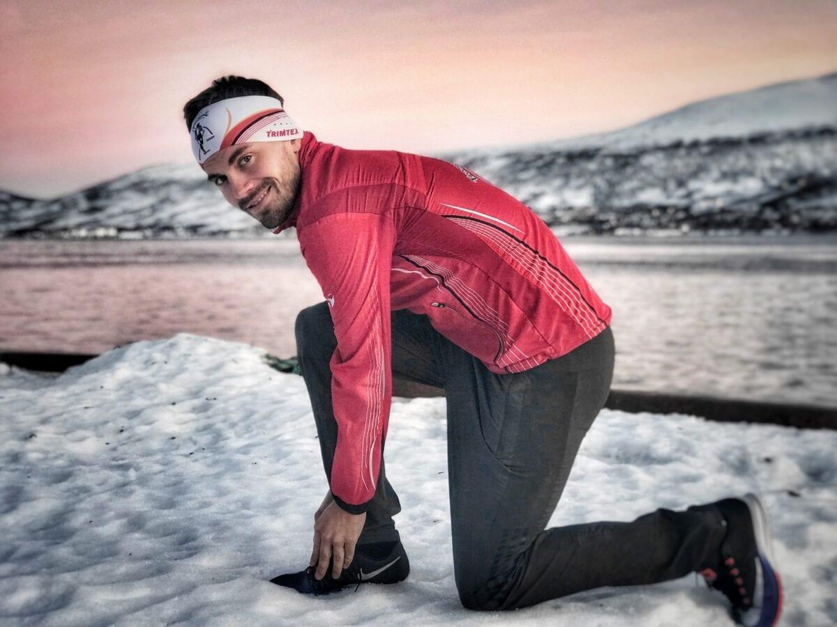 Kristian Ulriksen er Nord-Norges beste maraton løper